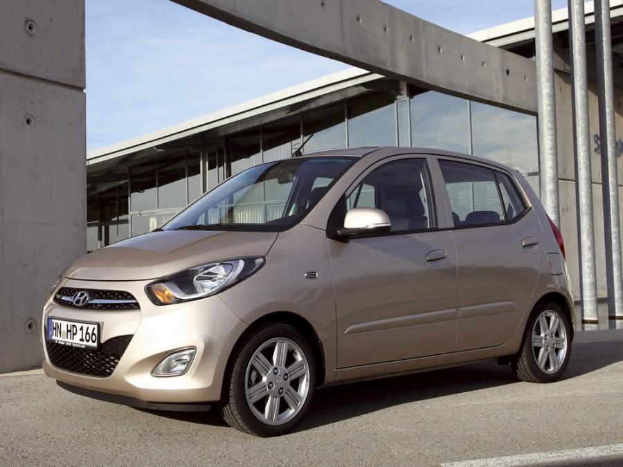 Hyundai i10 хетчбэк, 2010–2016, 1 поколение [рестайлинг] - отзывы, фото и характеристики на Car.ru