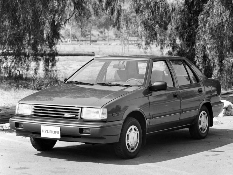 Hyundai Presto седан, 1985–1989, X1 - отзывы, фото и характеристики на Car.ru