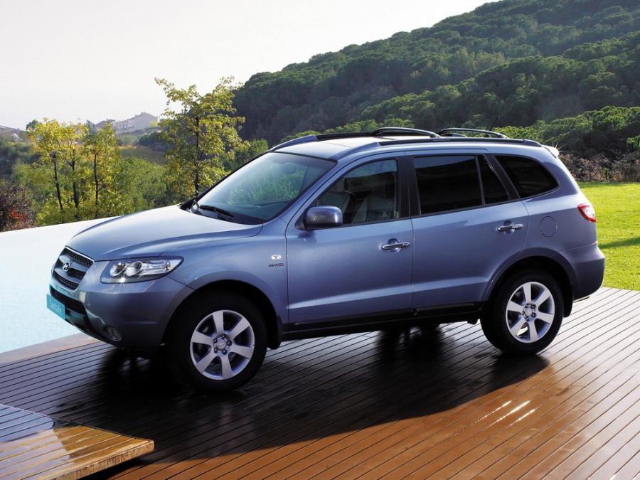 Hyundai Santa Fe кроссовер, 2006–2010, CM - отзывы, фото и характеристики на Car.ru