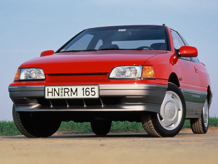 Hyundai S-Coupe купе, 1990–1992, 1 поколение - отзывы, фото и характеристики на Car.ru