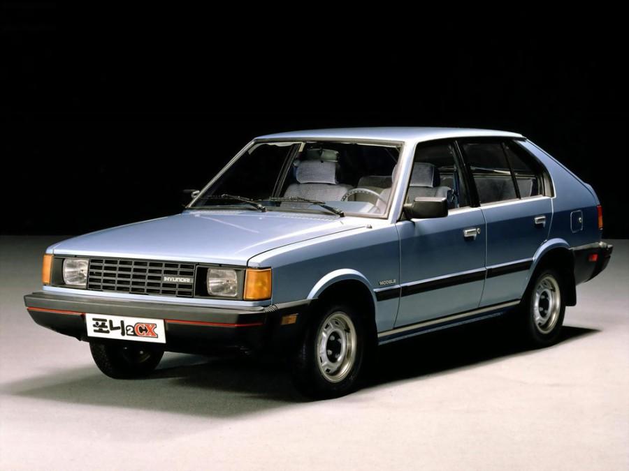 Hyundai Pony хетчбэк, 1982–1990, 2 поколение - отзывы, фото и характеристики на Car.ru