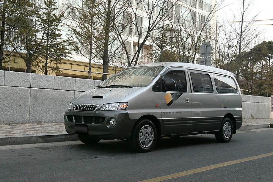 Hyundai Satellite микроавтобус, 1 поколение - отзывы, фото и характеристики на Car.ru