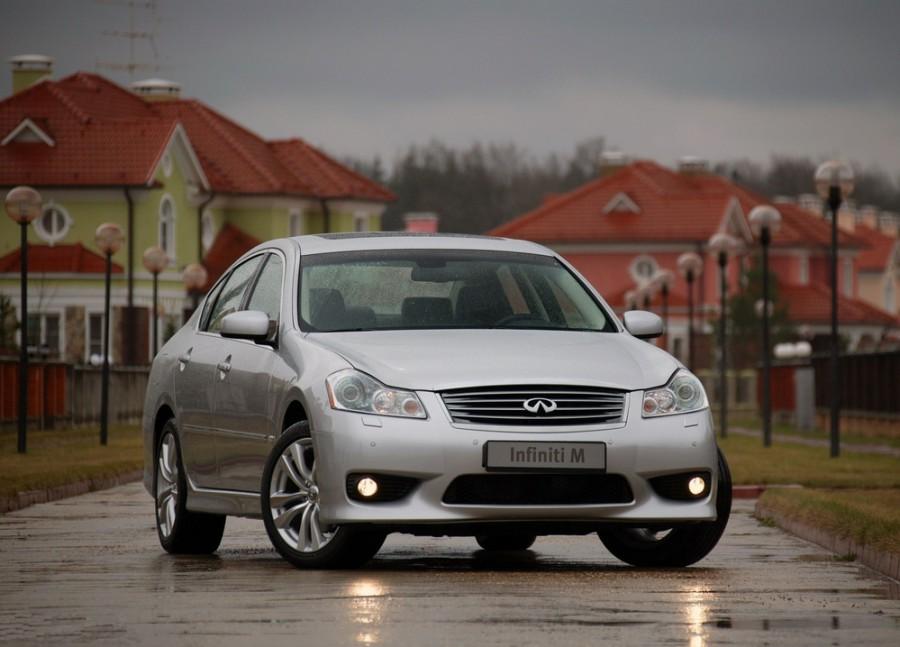 Infiniti M-Series M35 седан, 2006–2010, Y50 [рестайлинг] - отзывы, фото и характеристики на Car.ru