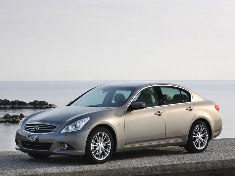 Infiniti G-Series седан 4-дв., 2007–2013, 4 поколение [рестайлинг] - отзывы, фото и характеристики на Car.ru
