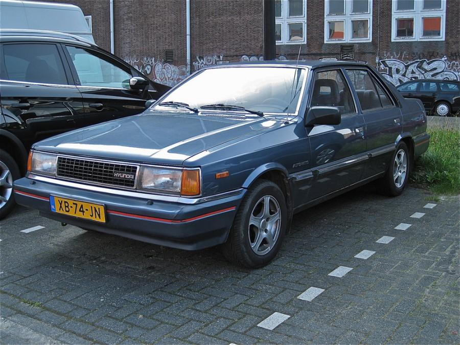 Hyundai Stellar седан, 1986–1992, 2 поколение - отзывы, фото и характеристики на Car.ru