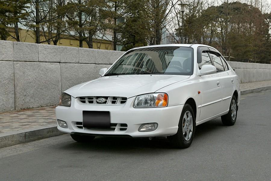 Hyundai Verna седан, 2000–2003, LC - отзывы, фото и характеристики на Car.ru