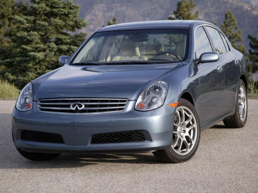 Infiniti G-Series седан, 2005–2006, 3 поколение [рестайлинг] - отзывы, фото и характеристики на Car.ru