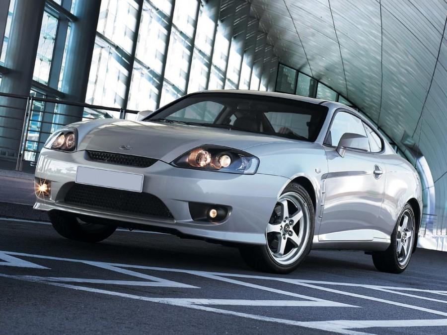Hyundai Tiburon купе, 2005–2006, GK F/L [рестайлинг] - отзывы, фото и характеристики на Car.ru