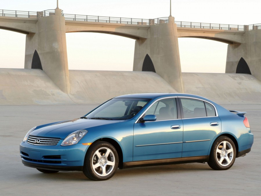 Infiniti G-Series седан, 2002–2005, 3 поколение - отзывы, фото и характеристики на Car.ru