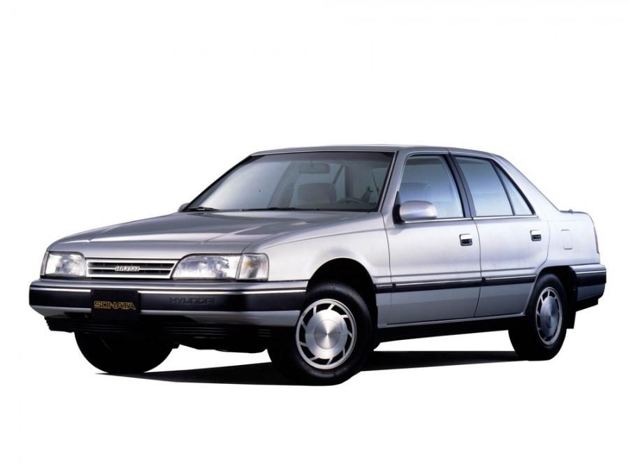 Hyundai Sonata седан, 1987–1991, Y2 - отзывы, фото и характеристики на Car.ru