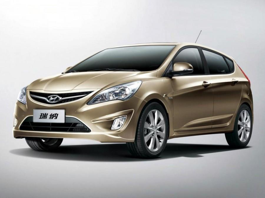 Hyundai Verna хетчбэк, 2011–2016, RB - отзывы, фото и характеристики на Car.ru