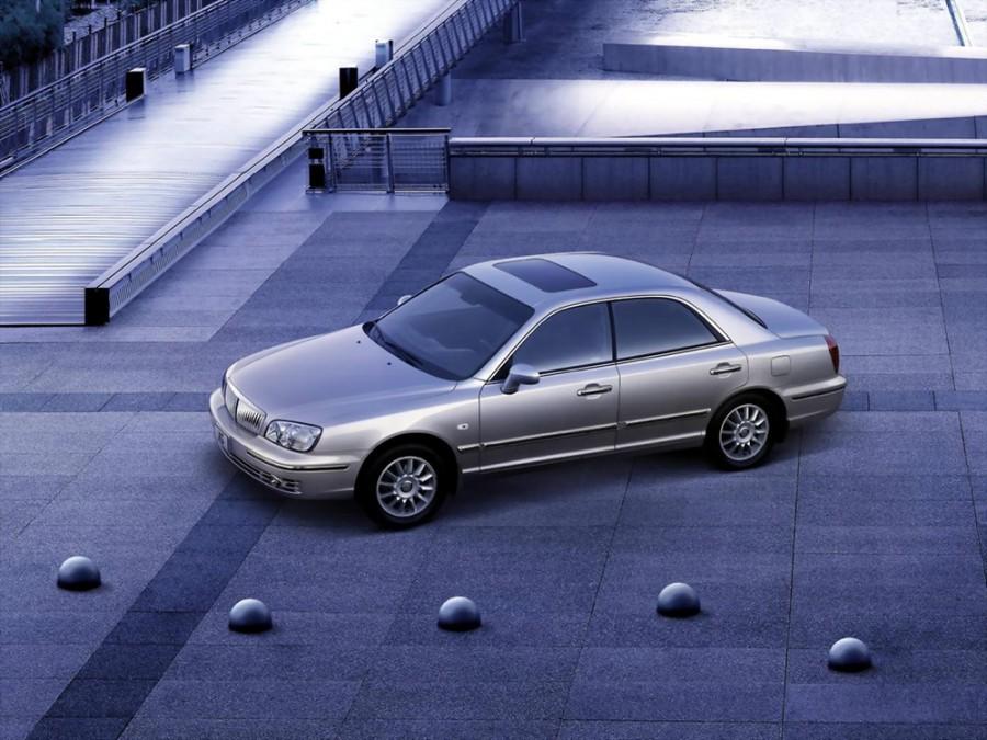 Hyundai XG седан, 2003–2005, 1 поколение [рестайлинг] - отзывы, фото и характеристики на Car.ru