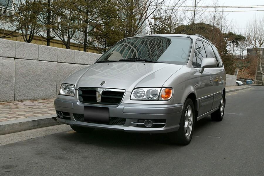 Hyundai Trajet минивэн, 1999–2004, 1 поколение - отзывы, фото и характеристики на Car.ru