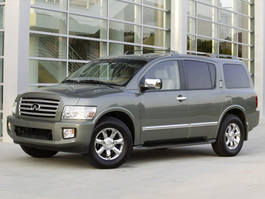Infiniti QX-Series внедорожник, 2004–2010, 2 поколение - отзывы, фото и характеристики на Car.ru