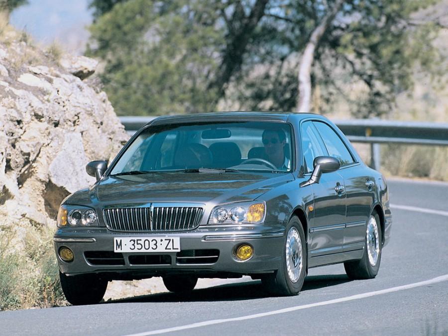 Hyundai XG седан, 1999–2001, 1 поколение - отзывы, фото и характеристики на Car.ru