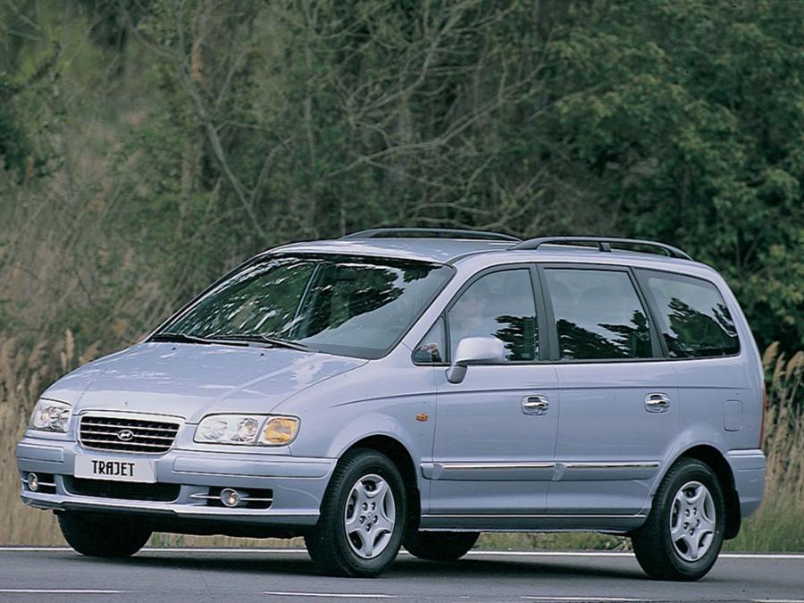 Hyundai Trajet минивэн, 2000–2004, Trajet - отзывы, фото и характеристики на Car.ru