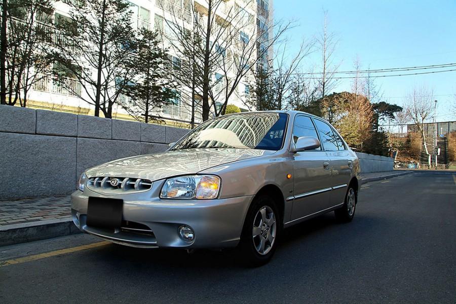 Hyundai Verna хетчбэк 5-дв., 2000–2003, LC - отзывы, фото и характеристики на Car.ru