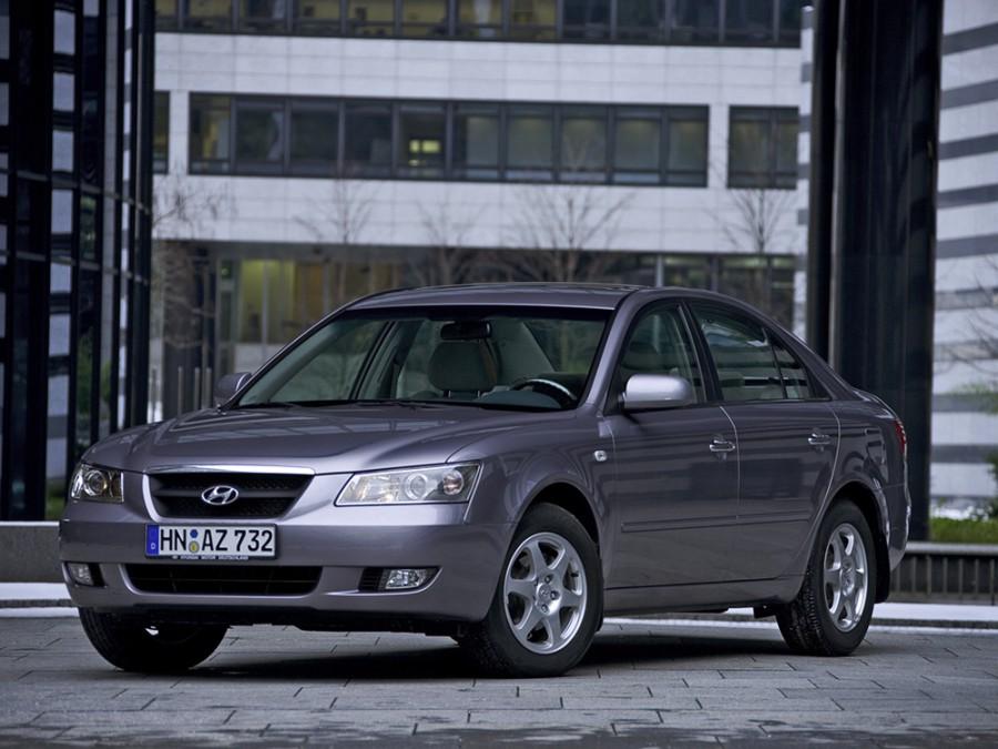 Hyundai Sonata седан, 2005–2008, NF - отзывы, фото и характеристики на Car.ru