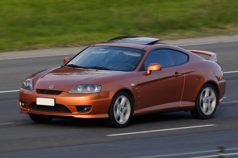 Hyundai Tuscani купе, 2005–2007, GK F/L [рестайлинг] - отзывы, фото и характеристики на Car.ru