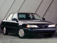Hyundai Sonata, Y2 [рестайлинг], Седан, 1991–1993