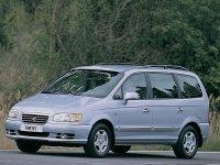 Hyundai Trajet, 1 поколение, Минивэн, 2000–2004