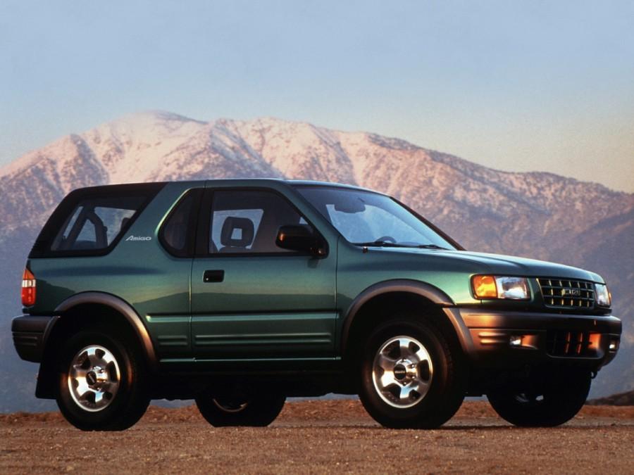 Isuzu Amigo Hard top внедорожник, 1998–2000, 2 поколение - отзывы, фото и характеристики на Car.ru
