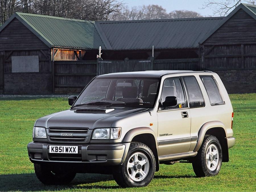 Isuzu Trooper внедорожник 3-дв., 1997–2003, 2 поколение - отзывы, фото и характеристики на Car.ru