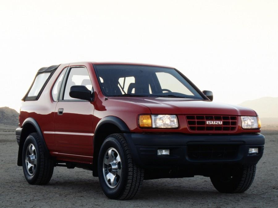 Isuzu Amigo Soft top внедорожник, 1998–2000, 2 поколение - отзывы, фото и характеристики на Car.ru