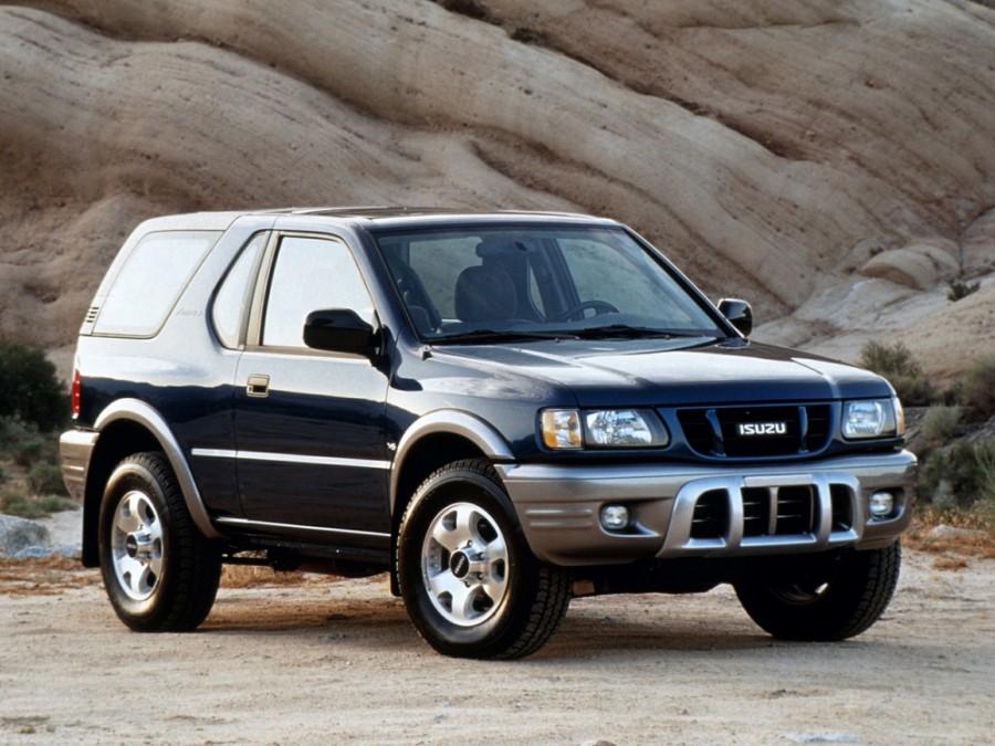 Isuzu Amigo Hard top внедорожник, 2000–2001, 2 поколение [рестайлинг] - отзывы, фото и характеристики на Car.ru