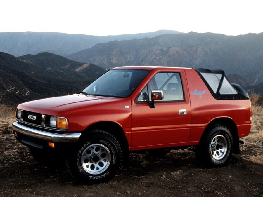 Isuzu Amigo внедорожник, 1989–1994, 1 поколение - отзывы, фото и характеристики на Car.ru