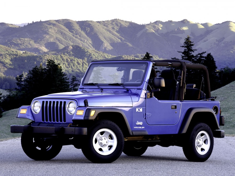 Jeep Wrangler кабриолет, 1997–2006, TJ - отзывы, фото и характеристики на Car.ru