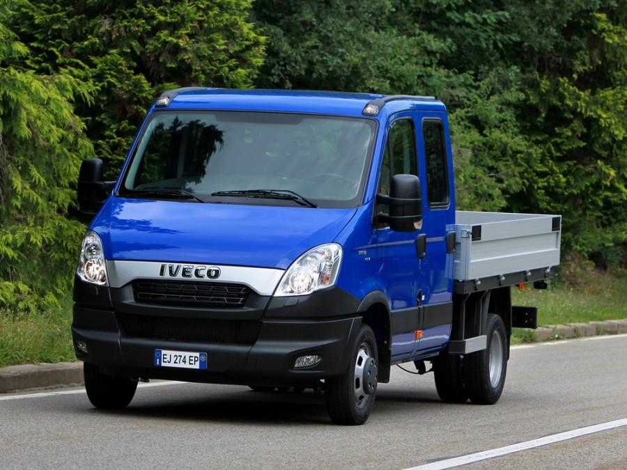 Iveco Daily шасси 4-дв., 2011–2014, 4 поколение [2-й рестайлинг] - отзывы, фото и характеристики на Car.ru