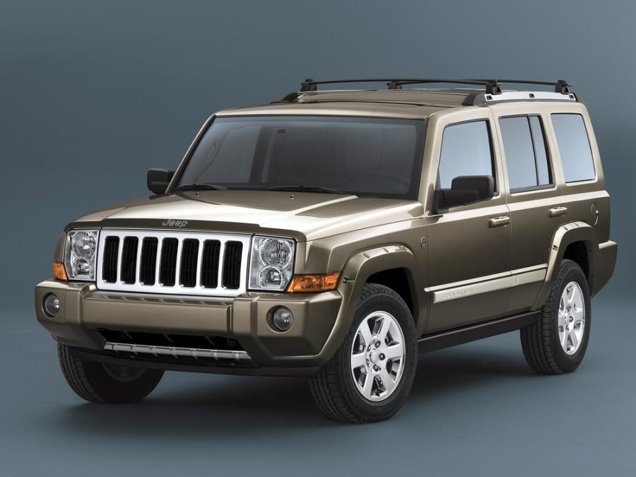 Jeep Commander внедорожник, 2006–2010, 1 поколение - отзывы, фото и характеристики на Car.ru