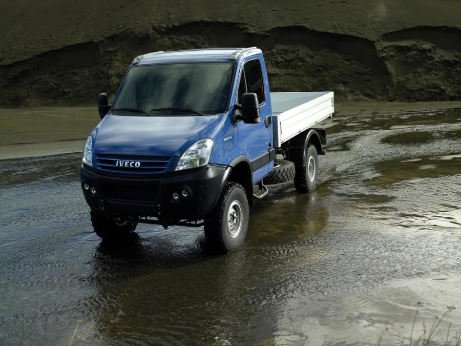 Iveco Daily 4x4 борт 2-дв., 2011–2014, 4 поколение - отзывы, фото и характеристики на Car.ru