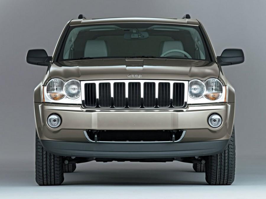 Jeep Grand Cherokee внедорожник 5-дв., 2004–2010, WK - отзывы, фото и характеристики на Car.ru
