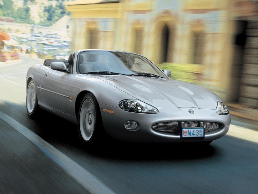 Jaguar XK XKR кабриолет, 2002–2004, Х100 [рестайлинг] - отзывы, фото и характеристики на Car.ru