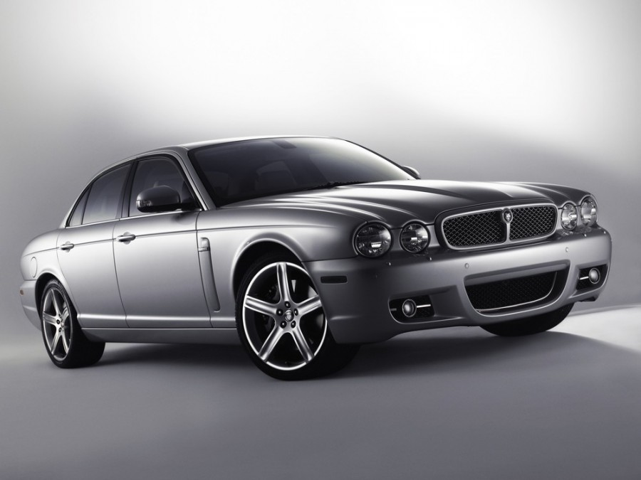 Jaguar XJ седан, 2007–2009, X358 [рестайлинг] - отзывы, фото и характеристики на Car.ru