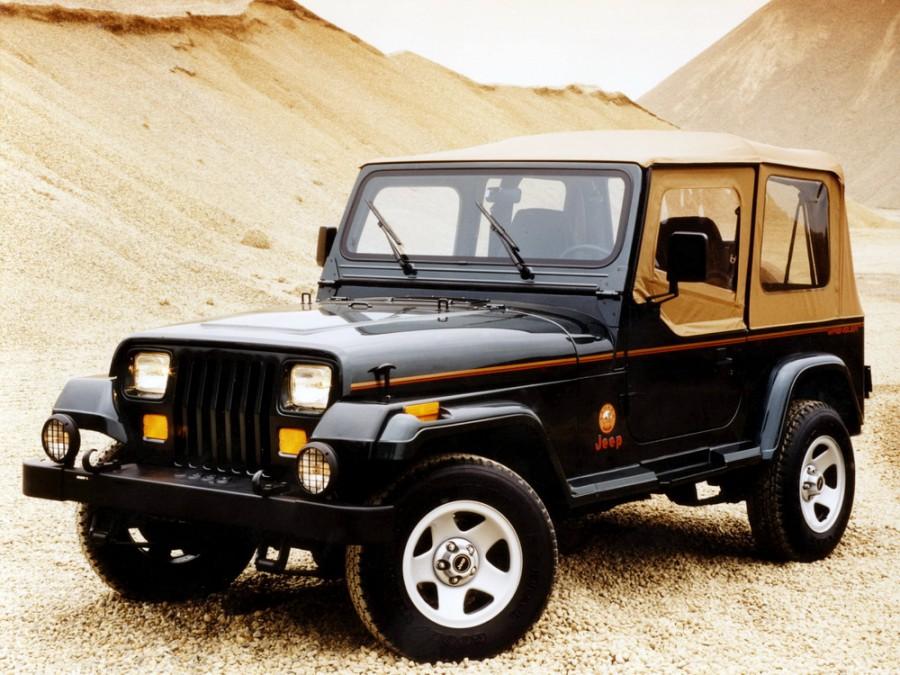 Jeep Wrangler кабриолет, 1987–1996, YJ - отзывы, фото и характеристики на Car.ru