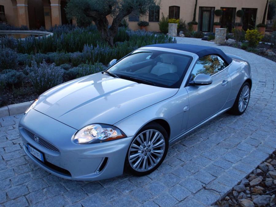 Jaguar XK кабриолет 2-дв., 2009–2013, X150 [рестайлинг] - отзывы, фото и характеристики на Car.ru