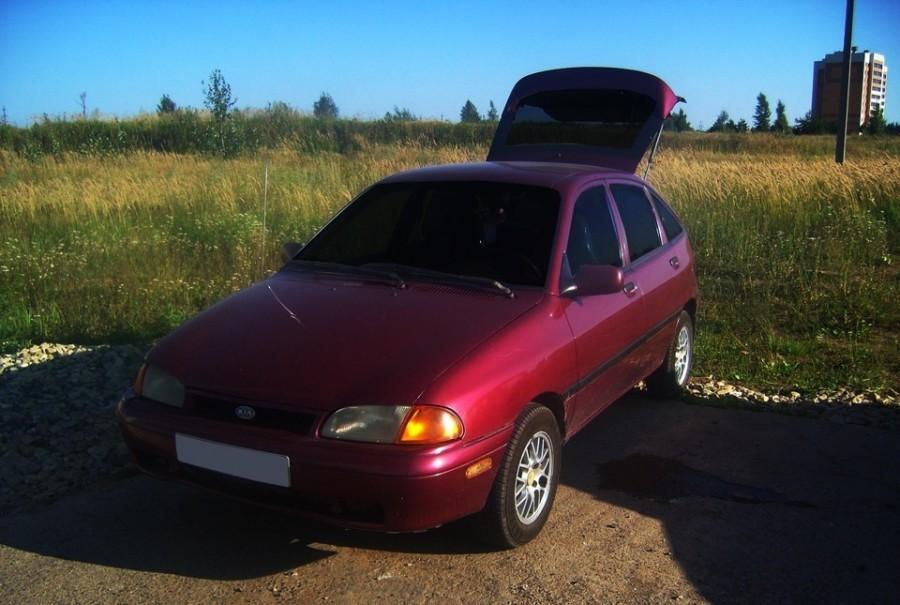 Kia Avella хетчбэк, 1994–1997, 1 поколение - отзывы, фото и характеристики на Car.ru