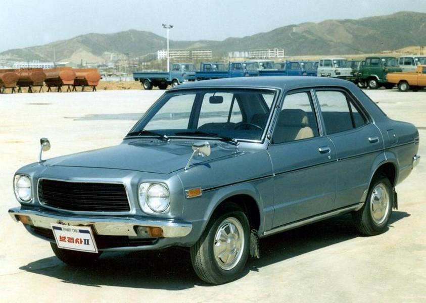 Kia Brisa II седан, 1978–1981, 2 поколение - отзывы, фото и характеристики на Car.ru