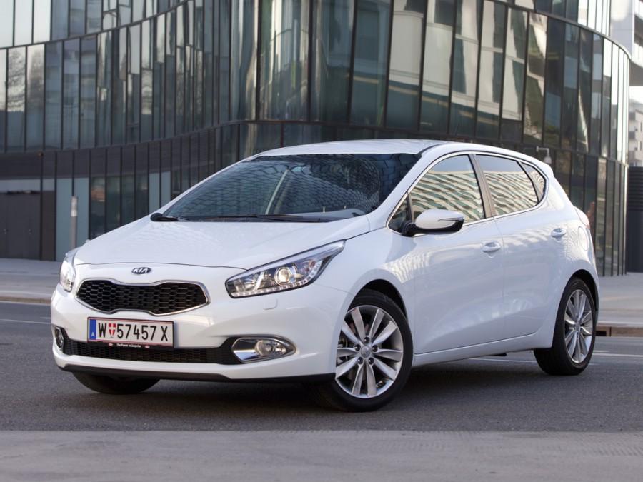 Kia Ceed хетчбэк 5-дв., 2012–2015, 2 поколение - отзывы, фото и характеристики на Car.ru