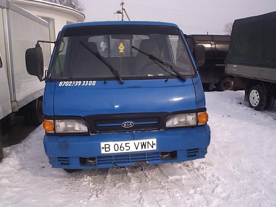 Kia Bongo Standard Cab борт 2-дв., 1989–1997, 1 поколение [рестайлинг] - отзывы, фото и характеристики на Car.ru
