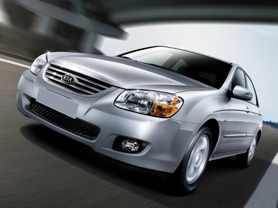 Kia Cerato седан, 2007–2009, 1 поколение [рестайлинг] - отзывы, фото и характеристики на Car.ru