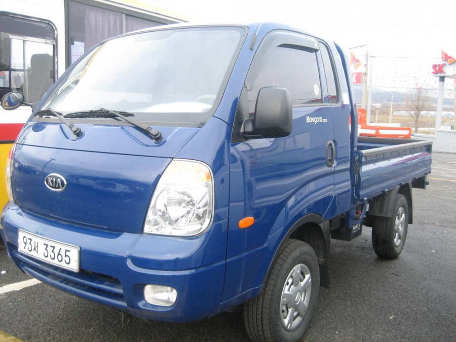Kia Bongo Super Cab борт 2-дв., 2004–2012, III - отзывы, фото и характеристики на Car.ru