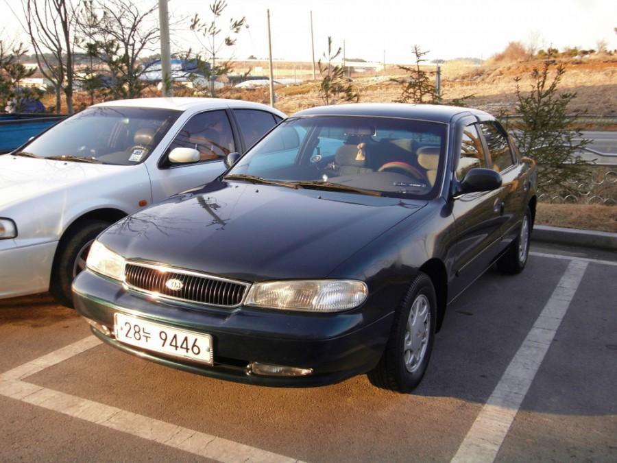 Kia Credos седан, 1995–1998, 1 поколение - отзывы, фото и характеристики на Car.ru