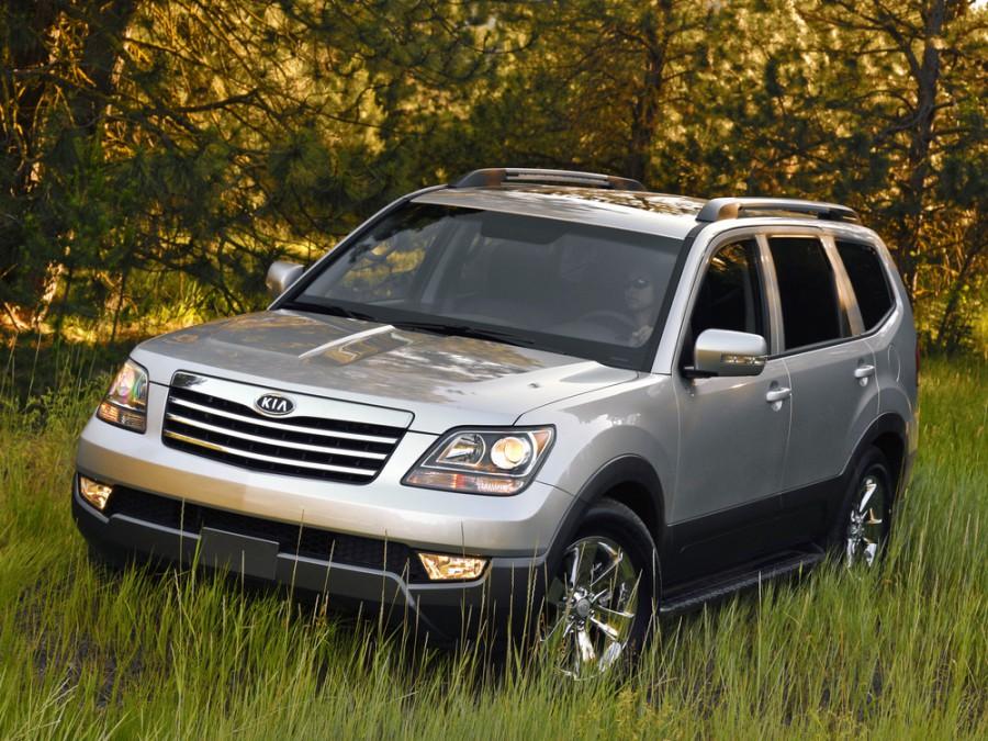 Kia Borrego внедорожник, 2009, 1 поколение - отзывы, фото и характеристики на Car.ru