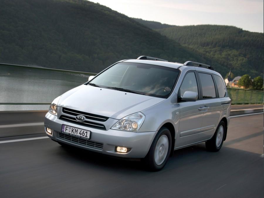 Kia Carnival минивэн, 2006–2010, 2 поколение - отзывы, фото и характеристики на Car.ru