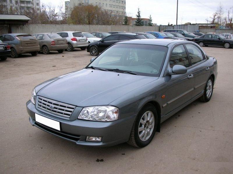 Kia Magentis седан, 2001–2003, 1 поколение - отзывы, фото и характеристики на Car.ru