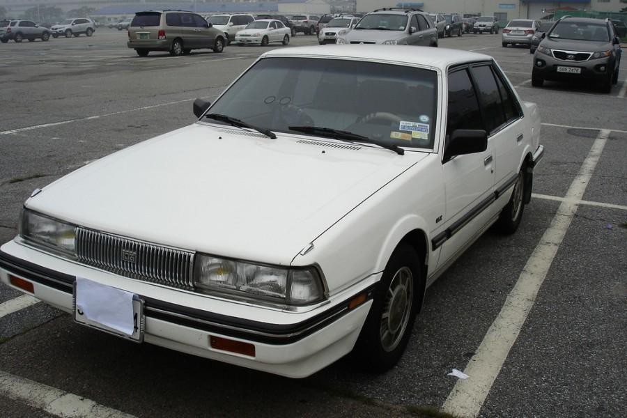 Kia Concord седан, 1987–1991, 1 поколение - отзывы, фото и характеристики на Car.ru